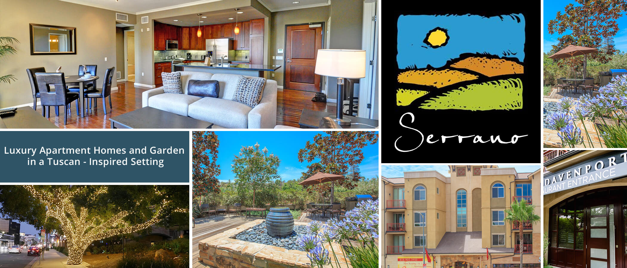 Serrano Luxury Apartment Homes and Garden - Apartments in Encino, CA